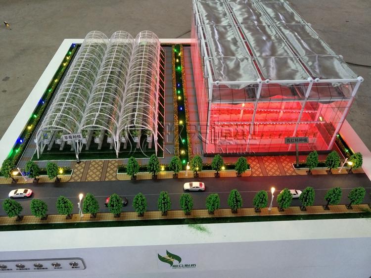 北京盛世玖天模型--和众必拓农业大棚