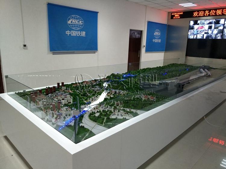 北京盛世玖天模型--中铁十四局铁路沙盘