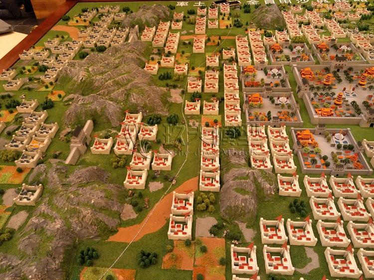 北京盛世玖天模型--网易游戏场景沙盘